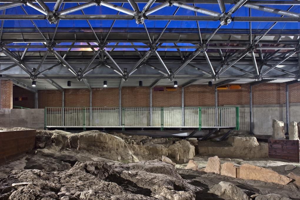 copertura area archeologica este cattaneo architetti